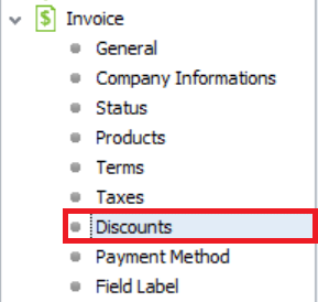 Setting up invoice 11