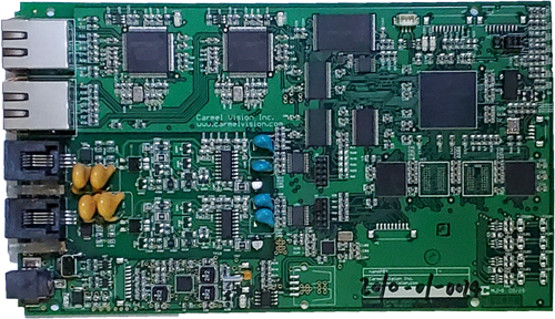 InfoFlo Talk Embedded Hardware Appliance on a Printed Circuit Board